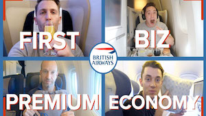 Reviewing four classes on the same British Airways flight