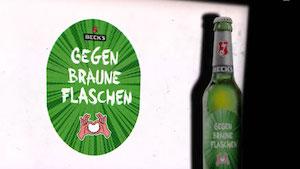 """The """"Gegen Braune Flaschen""""-Bottle"""